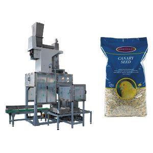 20kg Seed Open Mouth Bagging & Bag Bensín Vogir Sjálfvirk Grain Big Bags Pökkun Machine