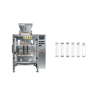 8 lína Multi lína poki Stick Sugar Packing Machine