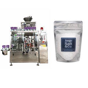 Sjálfvirk Rotary Premade Poki Pökkun Machine fyrir salt