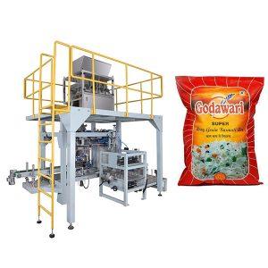 Big Bag Granular Heavy Poki Pökkun Machine Of Rice Fyrir 10kg-50