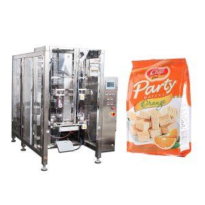 Full Automatic Food Quad Seal Poki Pökkun Machine
