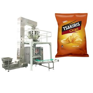 Kartafla Chips Pökkun Machine