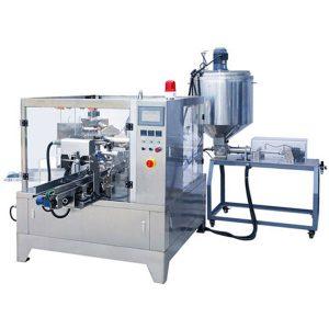 Premade Poki Liquid & Paste Pökkun Machine