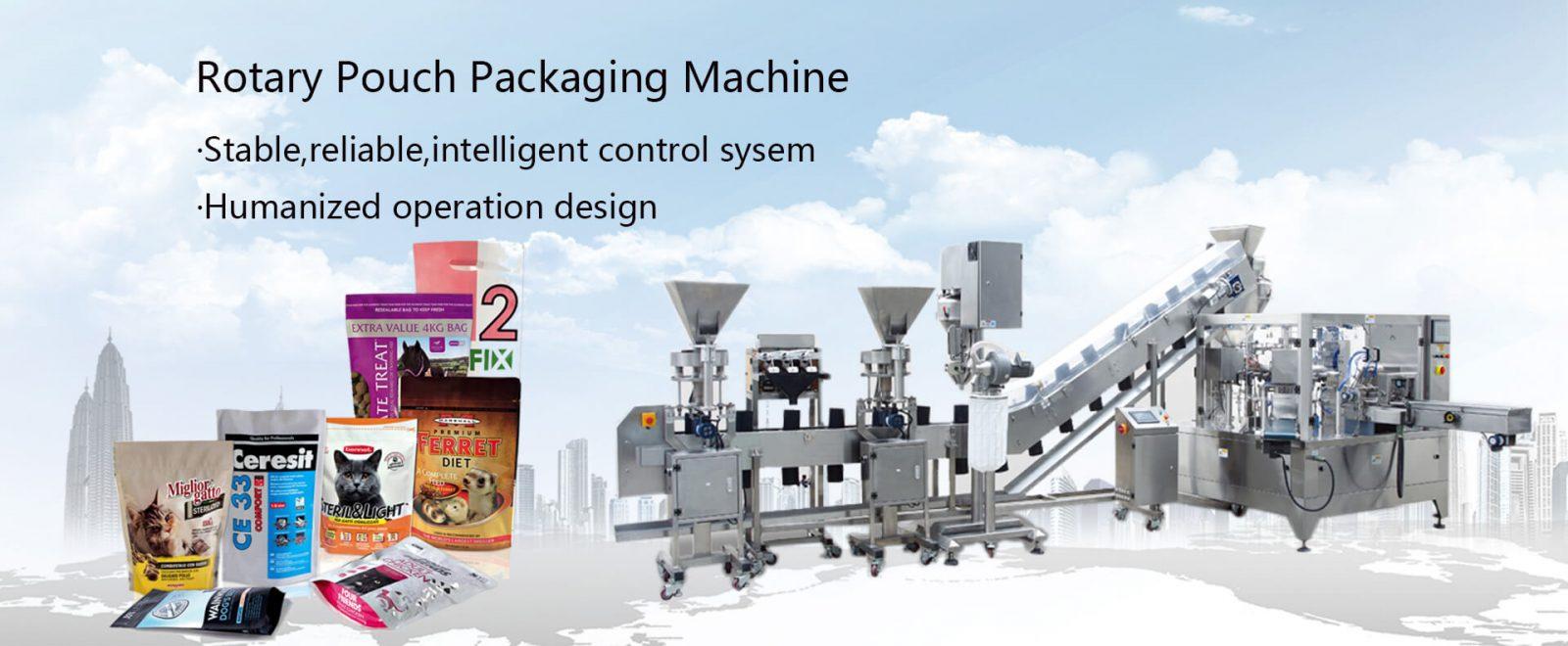 Rotary Poki Pökkun Machine
