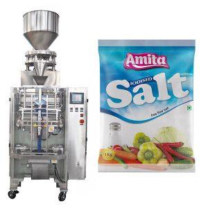 Lóðrétt Sjálfvirk Poki Poki Salt Pökkun Machine
